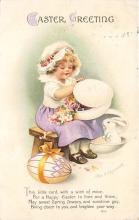 hol032201 - Artist Ellen Clapsaddle Easter Post Card