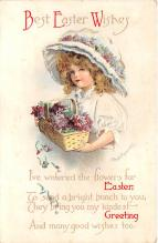 hol032207 - Artist Ellen Clapsaddle Easter Post Card