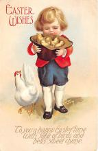 hol032208 - Artist Ellen Clapsaddle Easter Post Card