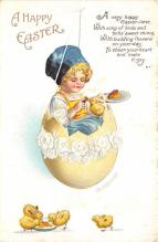 hol032209 - Artist Ellen Clapsaddle Easter Post Card