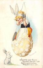 hol032210 - Artist Ellen Clapsaddle Easter Post Card