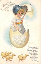 hol032212 - Artist Ellen Clapsaddle Easter Post Card