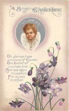 hol032215 - Artist Ellen Clapsaddle Easter Post Card