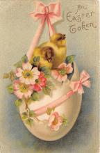 hol032217 - Artist Ellen Clapsaddle Easter Post Card