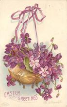 hol032224 - Artist Ellen Clapsaddle Easter Post Card