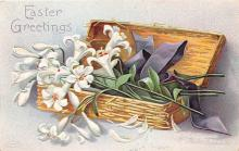 hol032225 - Artist Ellen Clapsaddle Easter Post Card