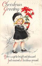 hol032245 - Artist Ellen Clapsaddle Easter Post Card