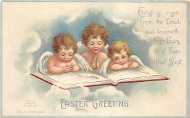 hol032289 - Artist Ellen Clapsaddle Easter Post Card