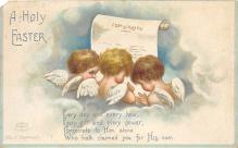 hol032292 - Artist Ellen Clapsaddle Easter Post Card