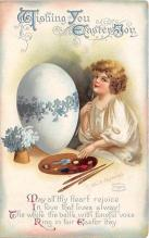 hol032293 - Artist Ellen Clapsaddle Easter Post Card
