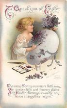 hol032294 - Artist Ellen Clapsaddle Easter Post Card