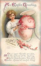 hol032295 - Artist Ellen Clapsaddle Easter Post Card