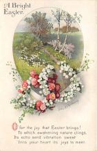 hol032302 - Artist Ellen Clapsaddle Easter Post Card