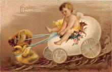 hol032316 - Artist Ellen Clapsaddle Easter Post Card