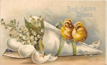 hol032319 - Artist Ellen Clapsaddle Easter Post Card