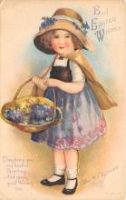 hol032320 - Artist Ellen Clapsaddle Easter Post Card