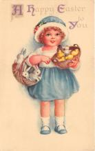 hol032322 - Artist Ellen Clapsaddle Easter Post Card