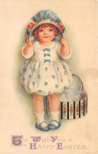 hol032323 - Artist Ellen Clapsaddle Easter Post Card