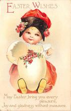 hol032327 - Artist Ellen Clapsaddle Easter Post Card