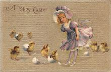 hol032336 - Artist Ellen Clapsaddle Easter Post Card