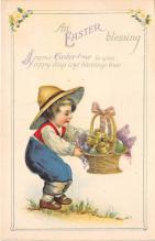hol032340 - Artist Ellen Clapsaddle Easter Post Card