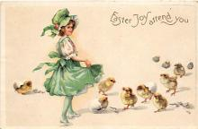hol032350 - Artist Ellen Clapsaddle Easter Post Card