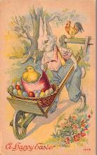 hol033001 - Easter Postcard, Old Vintage Antique Post Card