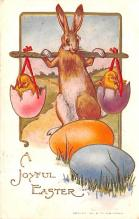 hol033003 - Easter Postcard, Old Vintage Antique Post Card