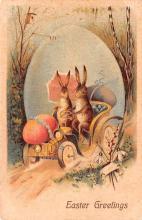 hol033011 - Easter Postcard, Old Vintage Antique Post Card