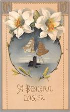 hol033013 - Easter Postcard, Old Vintage Antique Post Card