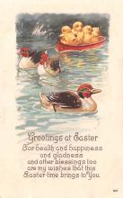 hol033021 - Easter Postcard, Old Vintage Antique Post Card