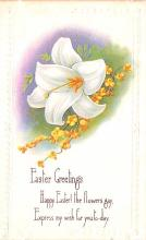 hol033023 - Easter Postcard, Old Vintage Antique Post Card