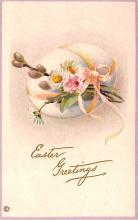 hol033029 - Easter Postcard, Old Vintage Antique Post Card