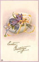hol033031 - Easter Postcard, Old Vintage Antique Post Card