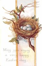 hol033033 - Easter Postcard, Old Vintage Antique Post Card