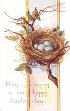 hol033033 - Easter Postcard, Old Vintage Antique Post Card