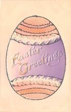 hol033035 - Easter Postcard, Old Vintage Antique Post Card