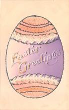hol033035 - Easter Postcard, Old Vintage Antique Post Card