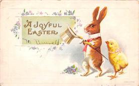 hol033047 - Easter Postcard, Old Vintage Antique Post Card