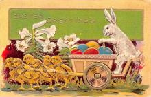 hol033073 - Easter Postcard, Old Vintage Antique Post Card