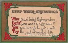 hol040089 - Leap Year Greeting Postcard