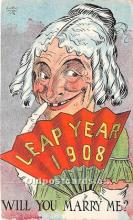 hol040097 - Leap Year Greeting Postcard