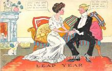 hol040113 - Leap Year Greeting Postcard