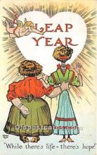 hol040125 - Leap Year Greeting Postcard