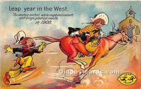 hol040128 - Leap Year Greeting Postcard