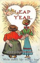 hol040175 - Leap Year Greeting Postcard