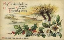 hol050001 - Artist Ellen Clapsaddle, Christmas Postcards Post Card