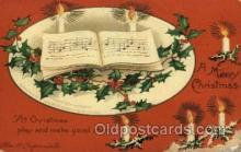 hol050012 - Artist Ellen Clapsaddle, Christmas Postcards Post Card