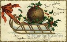hol050016 - Artist Ellen Clapsaddle, Christmas Postcards Post Card