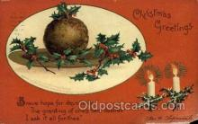 hol050023 - Artist Ellen Clapsaddle, Christmas Postcards Post Card